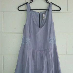 Free people gray dress